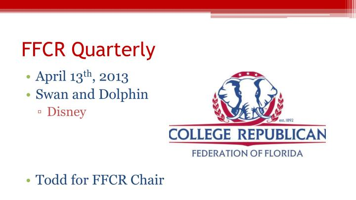 FFCR Quarterly