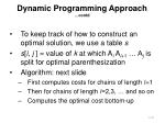 dynamic programming approach contd4