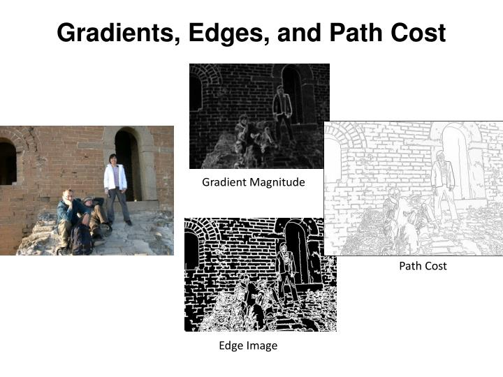 Gradients, Edges, and Path Cost