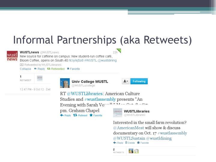 Informal Partnerships (aka