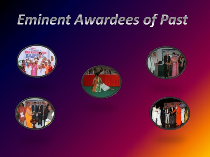 Eminent Awardees of Past