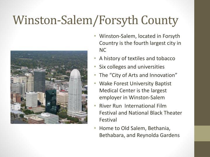 Winston-Salem/Forsyth County