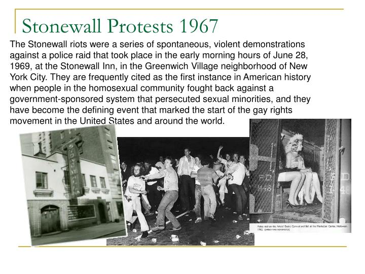 Stonewall Protests 1967