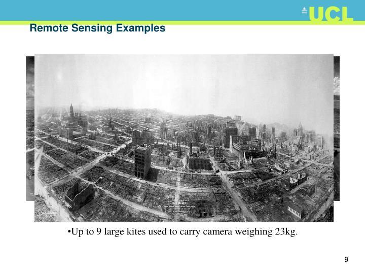 Remote Sensing Examples