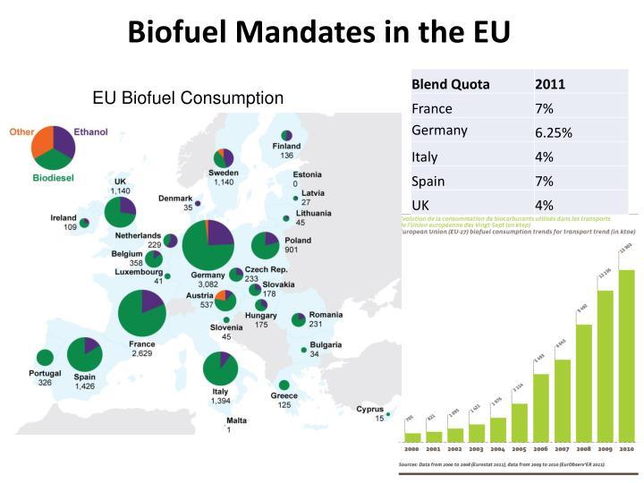 Biofuel Mandates in the EU