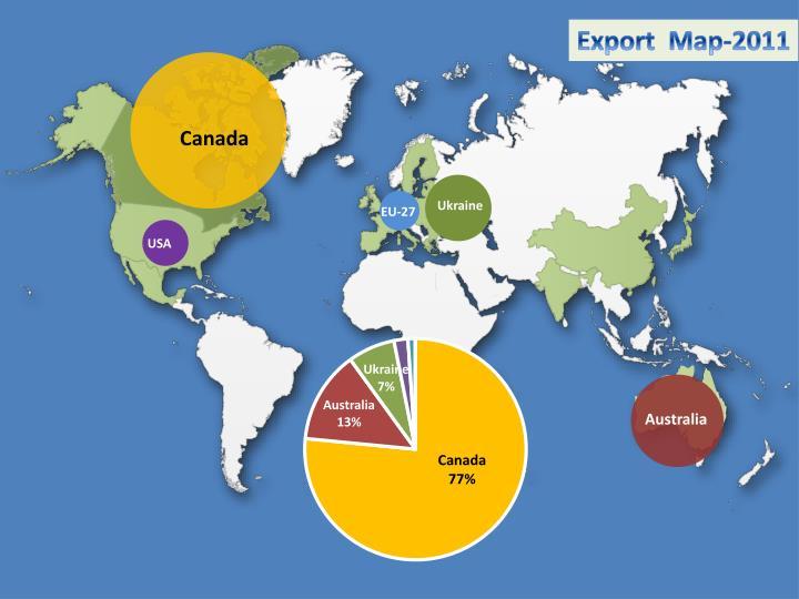 Export  Map-2011