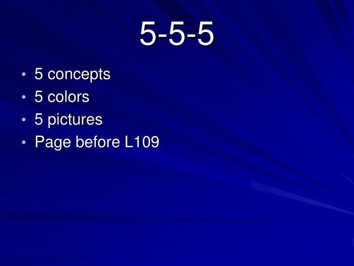 5-5-5