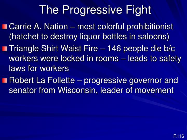 The Progressive Fight
