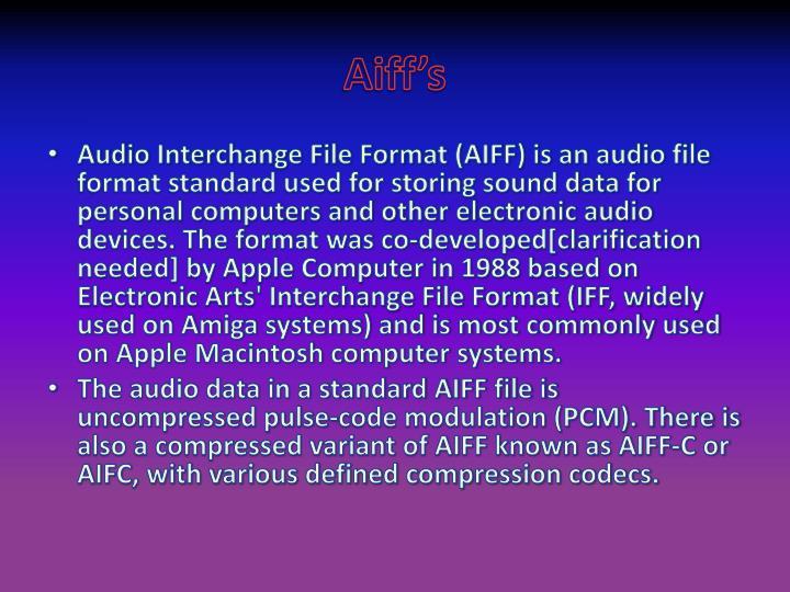 Aiff's