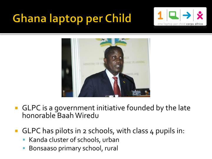Ghana laptop per Child