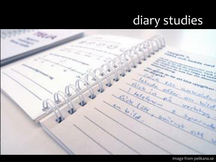 diary studies