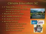 climate education sc