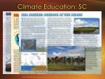 climate education sc1