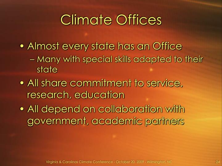 Climate Offices