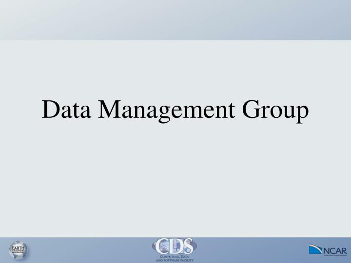 Data Management Group