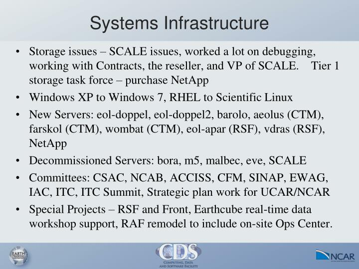 Systems Infrastructure