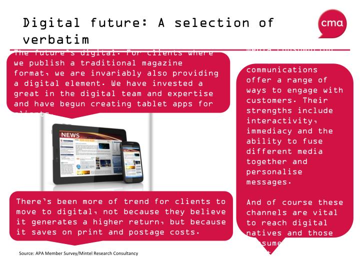 Digital future: