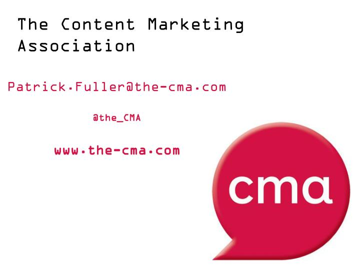 The Content Marketing Association