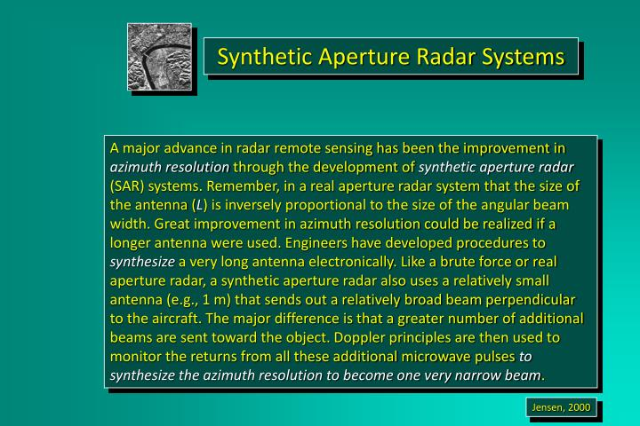Synthetic Aperture Radar Systems