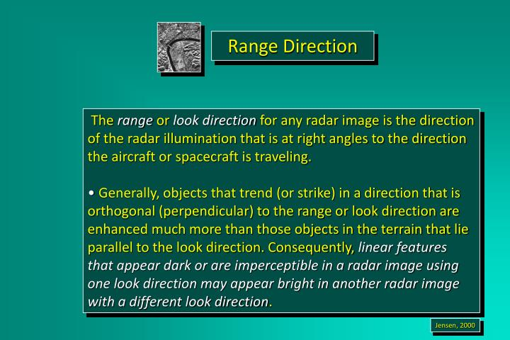 Range Direction