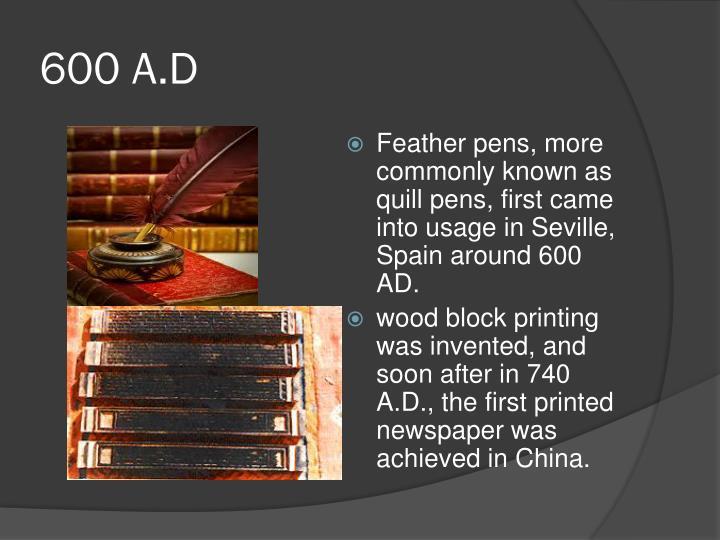 600 A.D