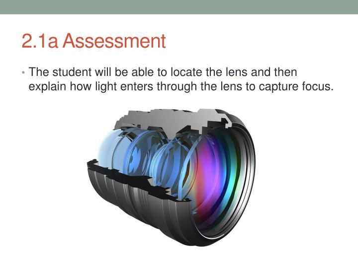2.1a Assessment