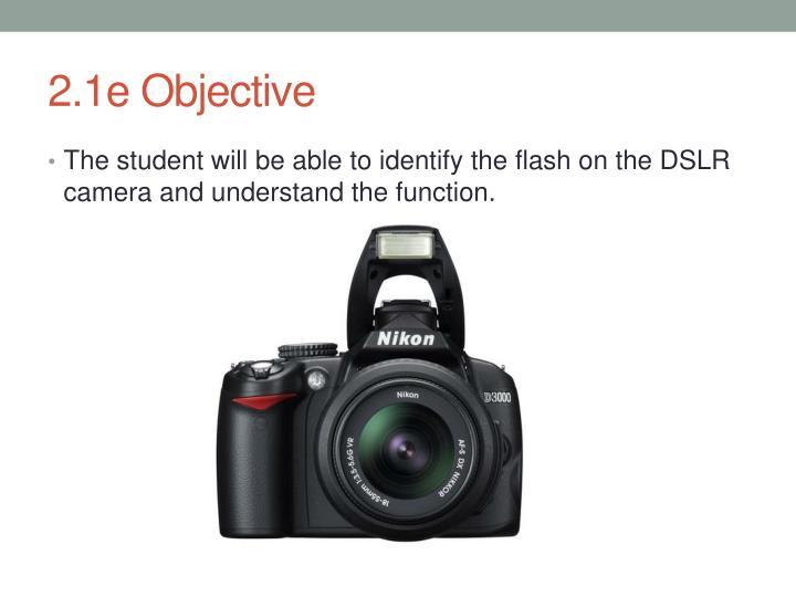 2.1e Objective