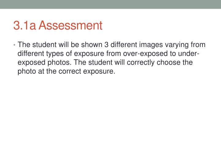 3.1a Assessment
