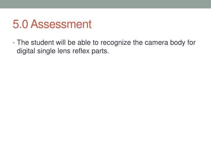 5.0 Assessment