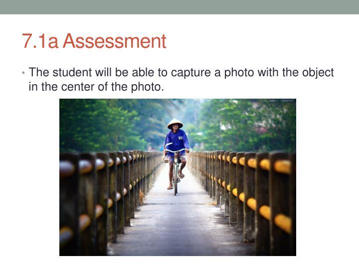 7.1a Assessment