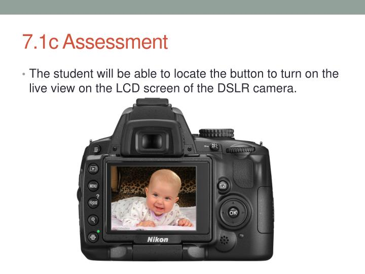 7.1c Assessment