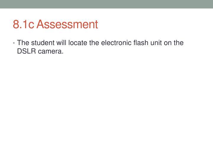 8.1c Assessment