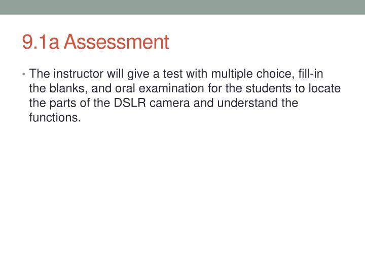 9.1a Assessment