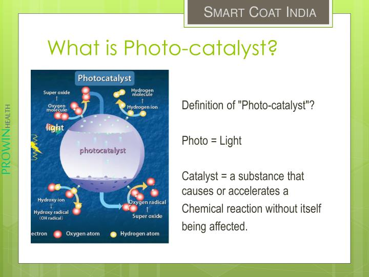 What is Photo-catalyst?