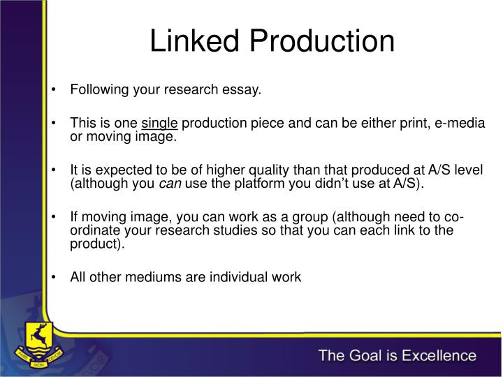 Linked Production
