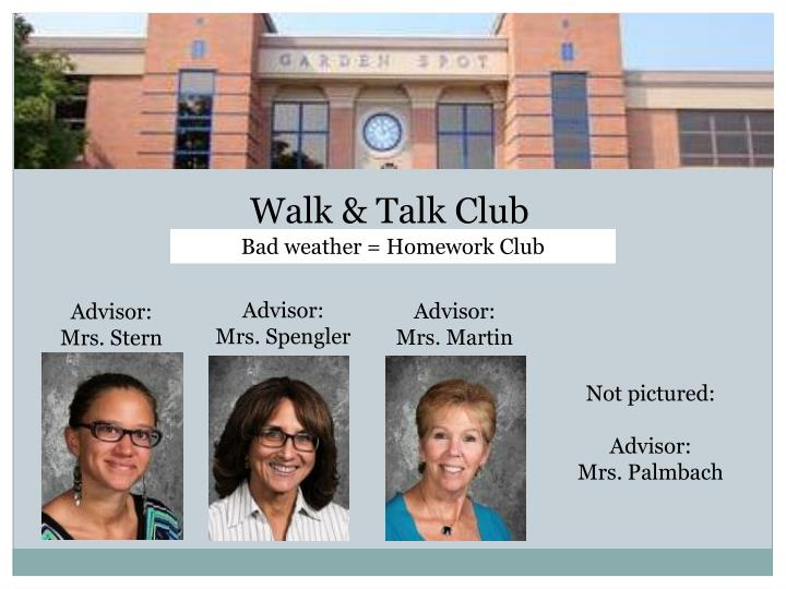 Walk & Talk Club