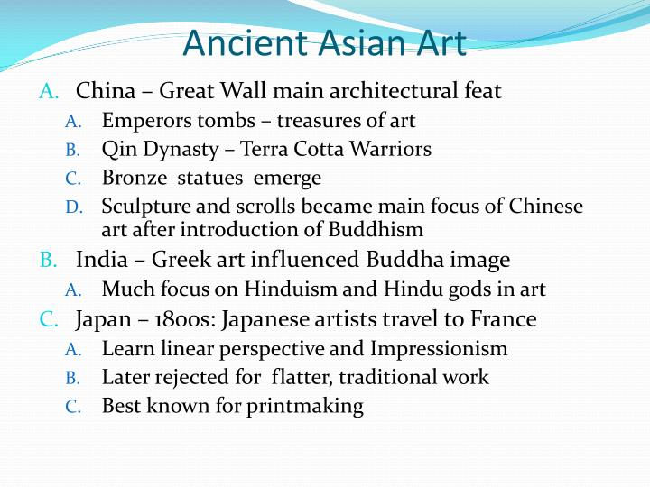 Ancient Asian Art