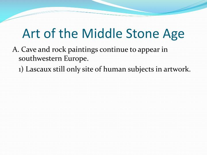 Art of the Middle Stone Age
