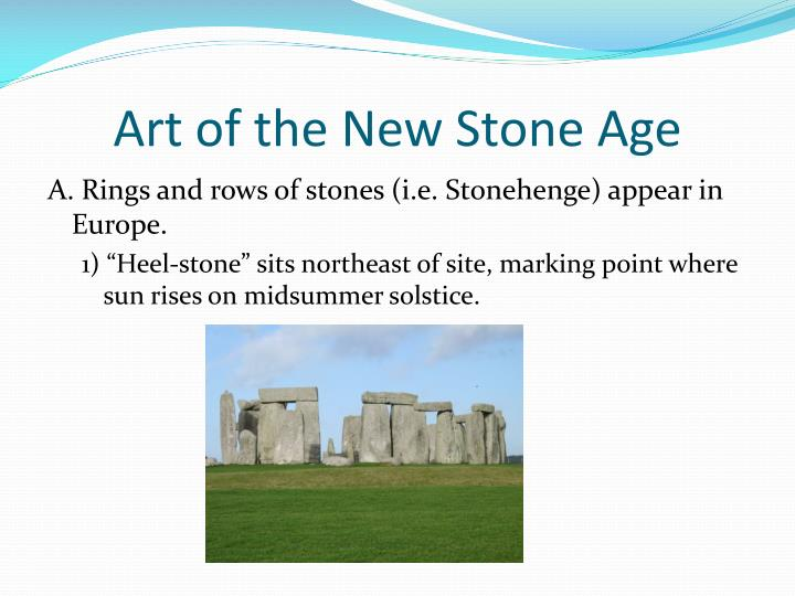 Art of the New Stone Age