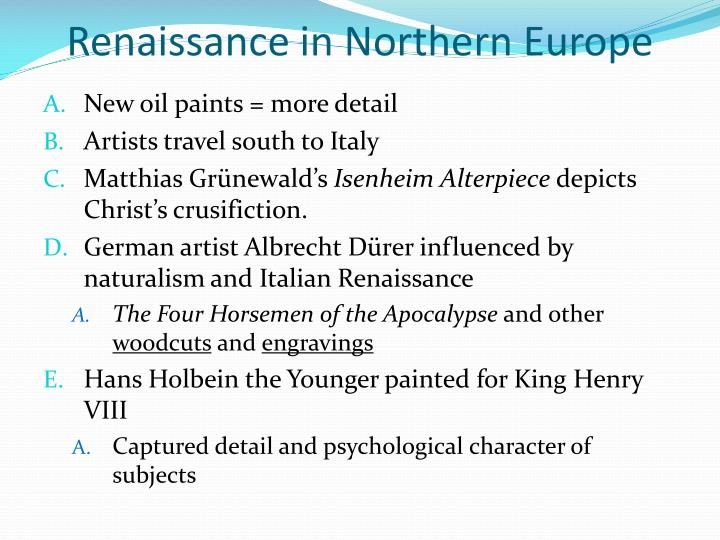 Renaissance in Northern Europe