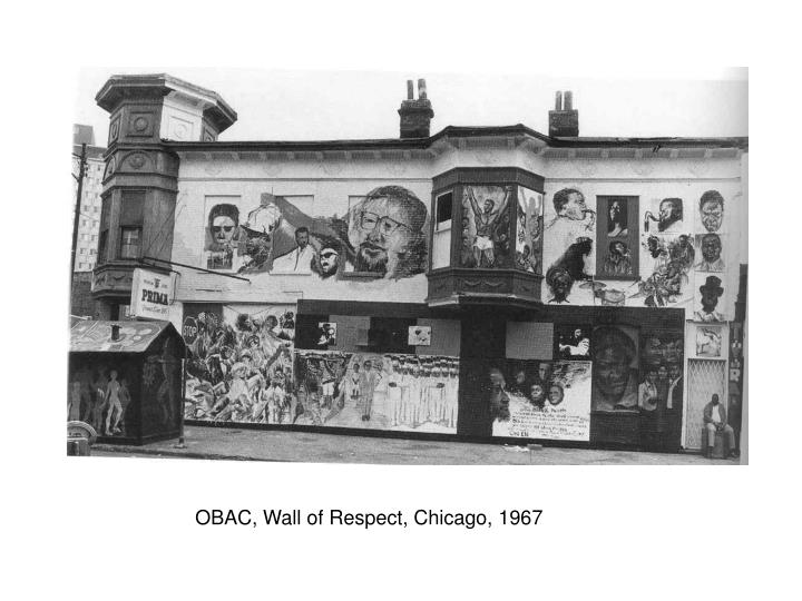 OBAC, Wall of Respect, Chicago, 1967