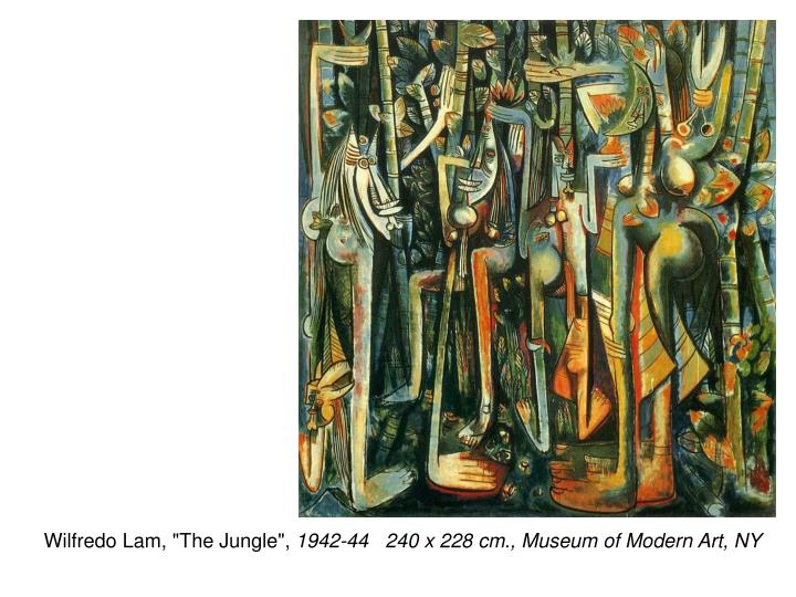 "Wilfredo Lam, ""The Jungle"","