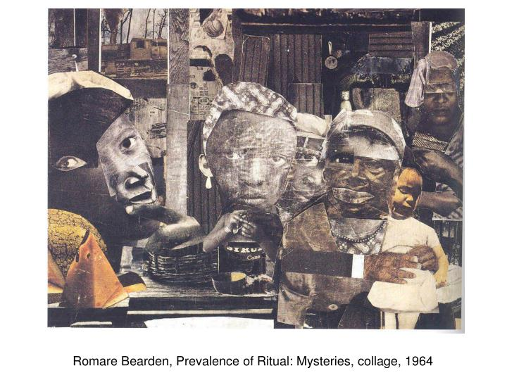 Romare Bearden, Prevalence of Ritual: Mysteries, collage, 1964