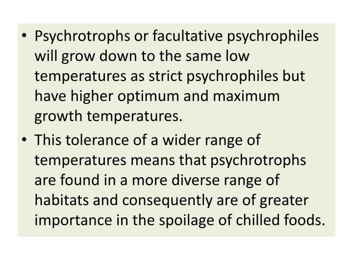 Psychrotrophs
