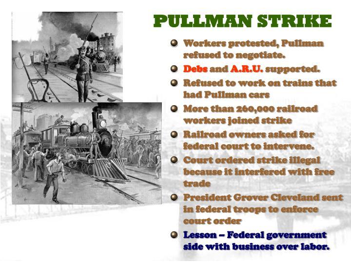 PULLMAN STRIKE