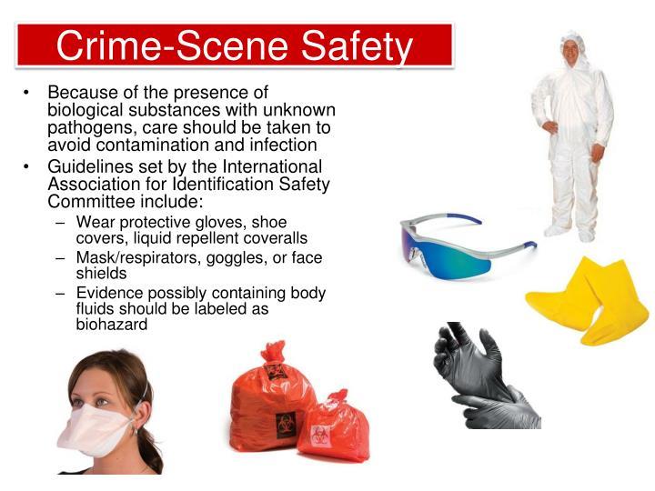 Crime-Scene Safety