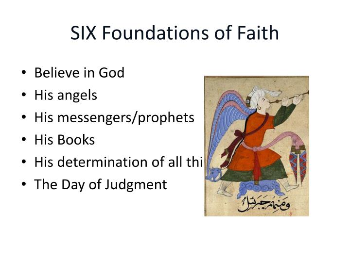 SIX Foundations of Faith