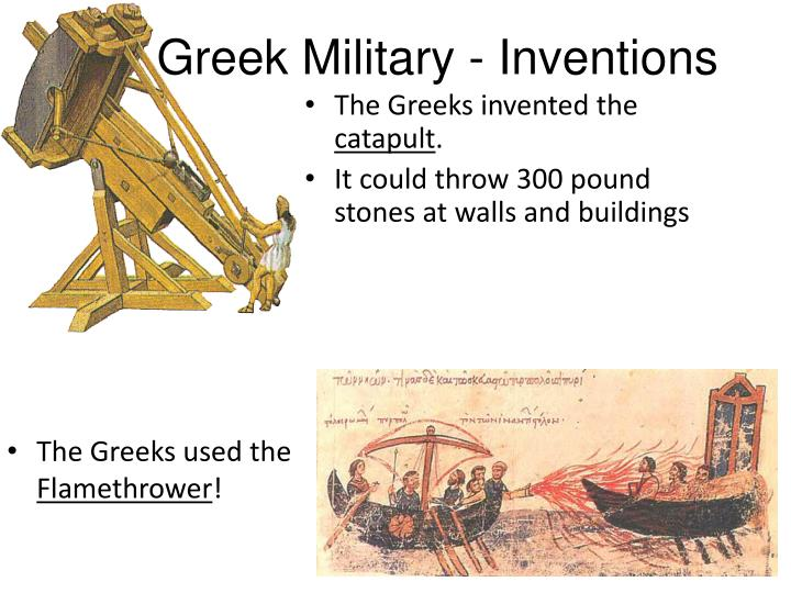 Greek Military - Inventions