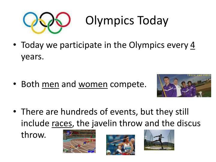 Olympics Today