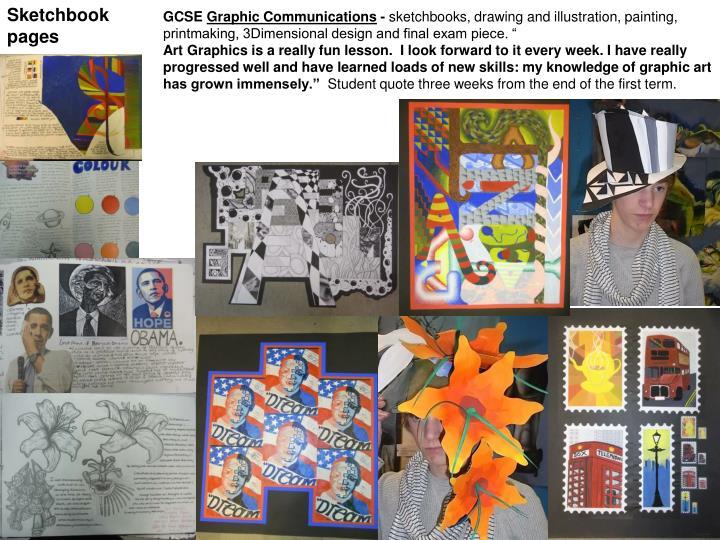 Gcse art and design coursework checklist